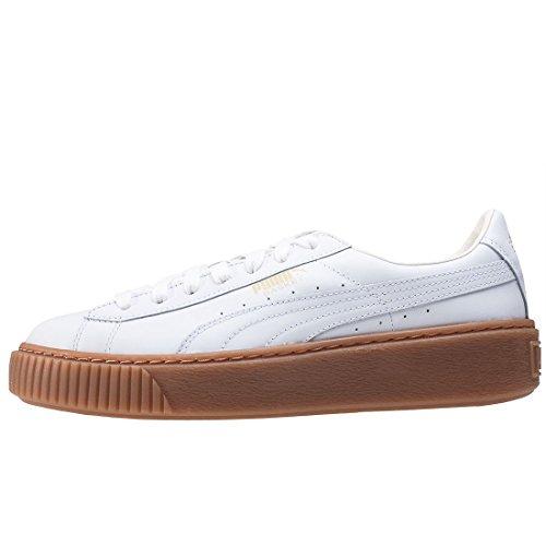 Puma Basket Platform Core, Sneakers Basses Femme white