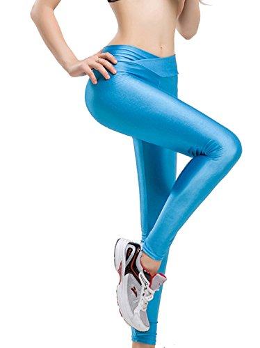 Astage -  Leggings  - ragazza azzurro Large