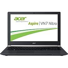 "Acer Aspire Black Edition VN7-591G-755E - Portátil de 15.6"" (Intel Core i7 4710HQ, 8 GB de RAM, Disco SSHD de 500 GB, Nvidia GeForce GTX860M, Windows 8), negro -Teclado QWERTZ Alemán"