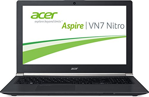Acer Aspire Black Edition VN7-791G-759Q 43,9 cm (17,3 Zoll) Laptop (Intel Core i7-4710HQ, 2,5GHz, 8GB RAM, 128GB SSD + 1TB HDD, Nvidia GeForce GTX 860M, Blu-ray, Win 8.1, Full-HD IPS Display) schwarz Acer Blu Ray