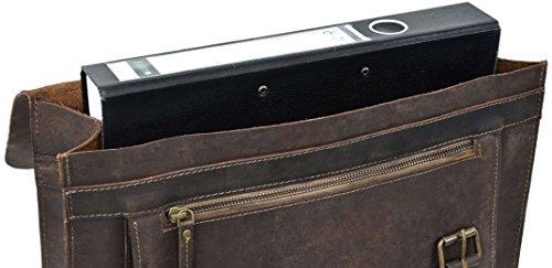Gusti Leder Studio Floyd borsa a tracolla in vera pelle marrone 2M1-26-54
