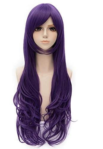 etruke Love Live Nozomi longue bouclée Violet Anime Cosplay perruques