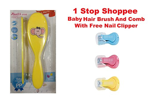 1 Stop Shoppee Baby Hair Brush And Comb With Free...
