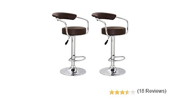 Vidaxl sgabello coppia sgabelli design bar cucina con schienale
