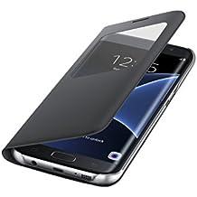 Samsung S View Etui pour Samsung Galaxy S7 Edge Noir