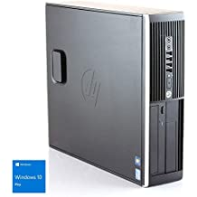 Hp Elite 8300 - Ordenador de sobremesa (Intel Core i5-3470, 8GB de RAM, Disco SSD de 240GB, Lector DVD, Windows 10 PRO ES 64) - Negro (Reacondicionado Certificado)