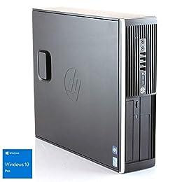 Hp Elite 8300 - Ordenador de sobremesa (Intel Core i5-3470, 8GB de RAM, Disco HDD de 500GB, Lector DVD, Windows 10 PRO ES 64) - Negro (Reacondicionado Certificado)