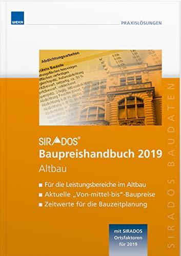 SIRADOS Baupreishandbuch 2019 Altbau