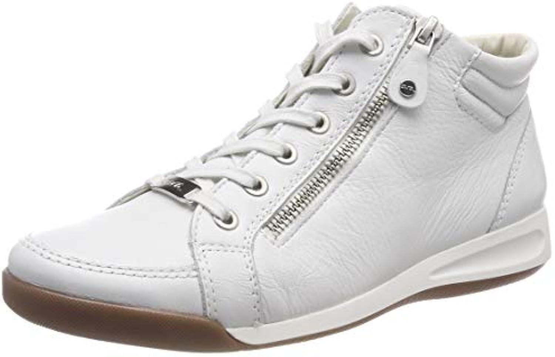 ARA Rom 1234410, scarpe da ginnastica a Collo Alto Donna | Di Alta Qualità E Low Overhead  | Scolaro/Ragazze Scarpa