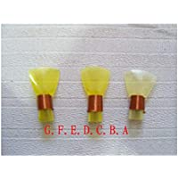 Tao Reed Kunststoff Suona 5 Stück Mundstücke (Farbe : Gelb)