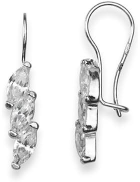 InCollections Damen-Ohrhänger 925/000 Sterlingsilber mit Zirkonia 0010261667340