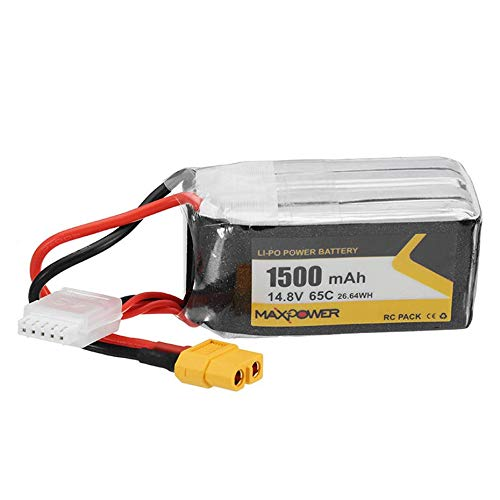 Panamami 4 s 14,8 V 1500mAh 65c Lithium-Batterie-Pack Multi-Achsen-Crossing-Maschine Rc-Batterie - schwarz -