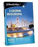 Wonderbox - Cofanetto Regalo - Europa - 3 Giorni in Europa - 1995 SOGGIORNI per 2 Persone in Italia E in Europa