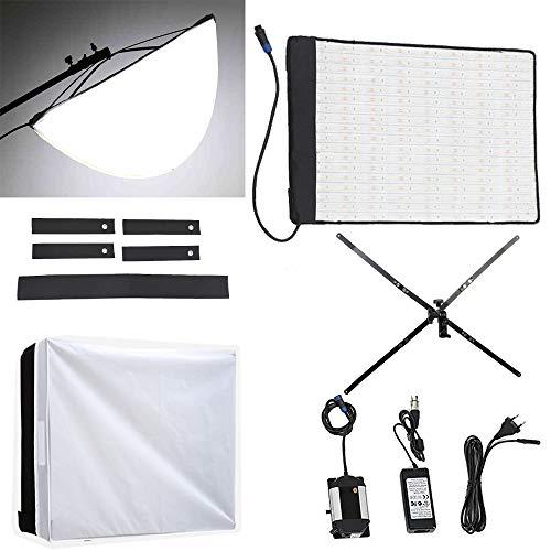 Fomito RX-18T Faltbare Rollen-Flex LED-Licht-Kit + RX-18OB Erweiterte Softbox Diffusor + RX-18SB Standard-Diffuser Digitale Flash-bracket Kit