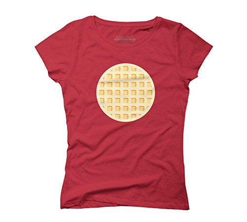 waffeld-womens-small-red-graphic-t-shirt-design-by-humans