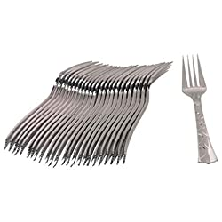 Ezee Steel finish Disposable Dinner Fork - 50 Pieces