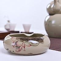 Creativo Ufficio Soggiorno Tavolino cinese Vintage personalizzata domestica Ceramica mano - dipinto a Cigar Ashtray