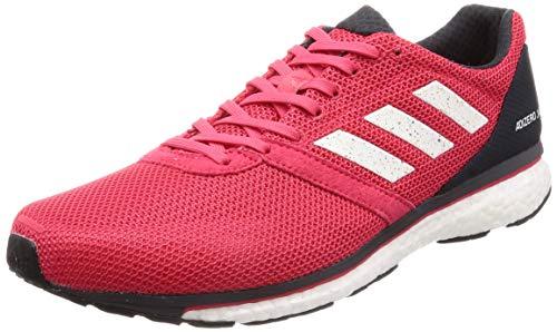 adidas Adizero Adios 4 M, Zapatillas de Running para Hombre, Rosa Active Pink/FTWR White/Carbon, 43 1/3 EU