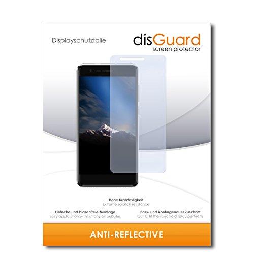disGuard® Bildschirmschutzfolie [Anti-Reflex] kompatibel mit Phicomm Energy 4s [2 Stück] Entspiegelnd, Matt, Antireflektierend, Extrem Kratzfest, Anti-Fingerabdruck - Panzerglas Folie, Schutzfolie