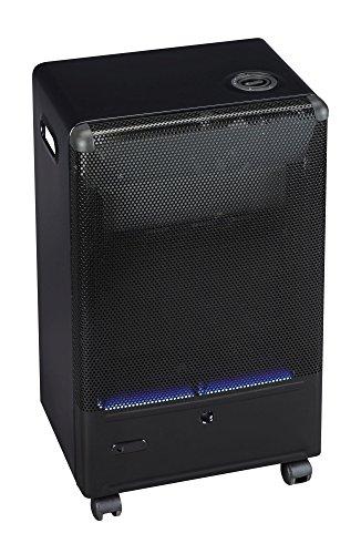 Tepro Gasheizgerät Blue Flame mit Thermostat, 4,2 kW, schwarz
