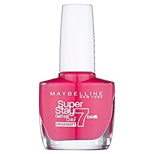 Maybelline SuperStay 7 Days Gel 190 Pink Volt Nail Polish 10ml