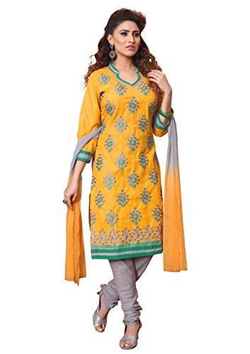 OOMPH! Women's Dress Material (rbmm_nakashi5_08_Honey Yellow_Free Size)