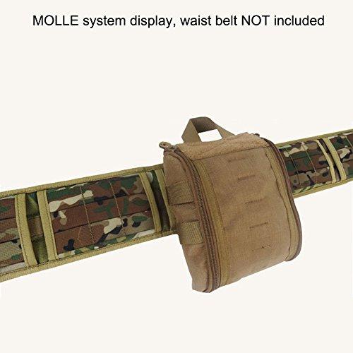 SUNVP Tactical MOLLE Rip-Away EMT Medizinische Erste Hilfe Utility Pouch Bag Brown Black