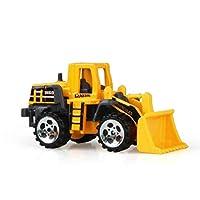 jianghang Nice Model Classic Toy vehicle Engineering Car Dump-car Dump Truck mini alloy construction types Diecast Mini gift Toys