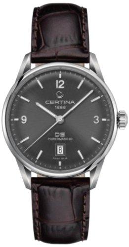 Certina Herren-Armbanduhr XL Analog Automatik Leder C026.407.16.087.00