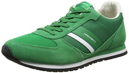 hackett-pembrook-scarpe-running-uomo-verde-green-43-eu
