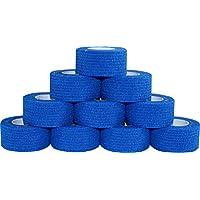 60 Stück Kohäsive Pflaster selbstklebend Fixierbinde Haftbinde Farbe: blau (Größe: 2,5 cm x 4 m) Medi-Inn preisvergleich bei billige-tabletten.eu