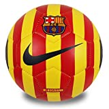 #6: Nike FCB Football - Size: 5 (Pack of 1, Multicolor)