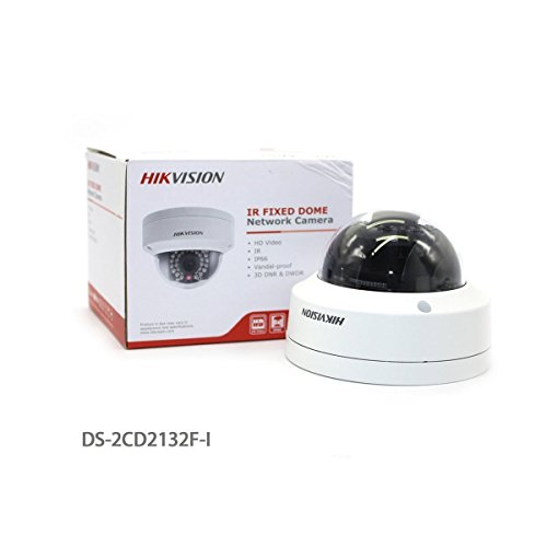 HWIN@ Hikvision DS-2CD2132F-I 3MP IP66 Fixed Dome Network Camera POE IR Day/Night Vision Indoor Security Surveillance IP CCTV Camera 4,0 mm lenti