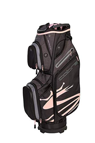 Cobra Golf 2019 Ultralight Cartbag, Damen, Ultralight Cart Bag Ul19, schwarz/pink -