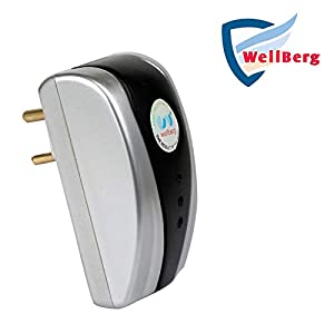 Wellberg Power Saver 100% Legal Safe & Genuine Save Electricity & Money Superior, Digital Electricity Saving Device. Electricity Saver Reduce Your Electricity Bill