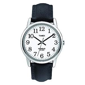 Timex T20501PF – Reloj de Cuarzo para Hombres, Correa de Piel, Sumergible