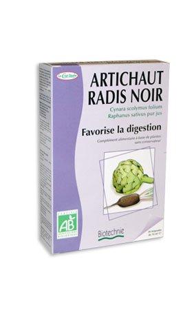 Biotechnie Artichaut Radis Noir Digestion 20 Ampoules
