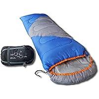 Mountaineers Outdoor Sleeping Bag, 4 Season, XL Pillow Pocket, Foot Zipper &more