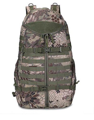 HCLHWYDHCLHWYD-Außensportplatz Reiten Rucksack Tasche Rucksack Multifunktions-taktischer Angriffs-Rucksack mit großer Kapazität 4