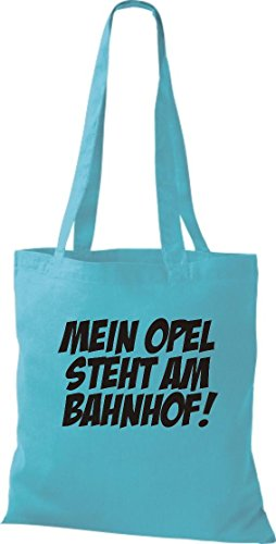 Pochette crocodile mein oPEL est à la gare ferroviaire de coton, sac à bandoulière sac de plusieurs couleurs Bleu - sky