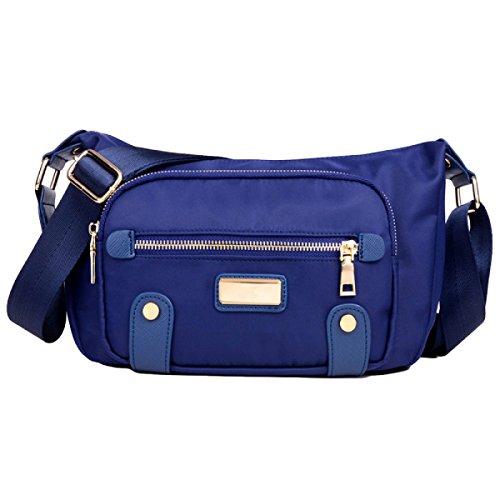Kleine Tasche Freizeit Wild Messenger Solo Schultertasche Geldbörse Paket Einfaches Paket Blue