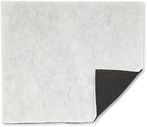 WENKO 2205010100 Charcoal filter - with activated carbon against fat odour, Polyester, Black