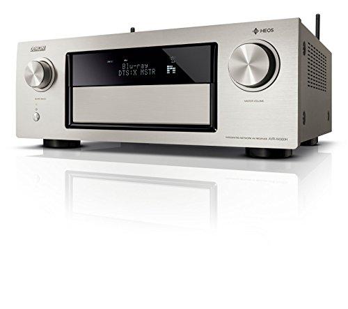 Preisvergleich Produktbild Denon AVRX4300HSPE2 Premium AV Surround-Receiver mit 9 Kanal-Endstufe und HEOS Integration (Amazon Music) premium-silber