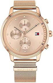 Tommy Hilfiger Womens Quartz Wrist Watch, Analog and Stainless Steel- 1781907
