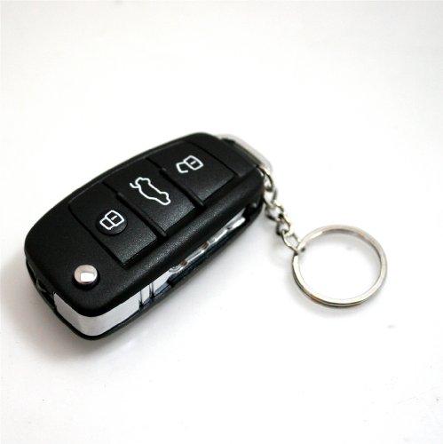 Preisvergleich Produktbild Oramics® Elektroschocker KFZ Auto Fernbedienung Spass-Schocker 3 i 1 incl LED Licht und Schlüsselanhänger