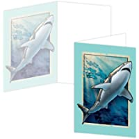 Ecoeverywhere vintage Shark boxed card set, 12biglietti