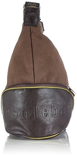 Poodlebag Bad Nauheim 3GC0814BANAC Damen Umhängetaschen 30x17x36 cm (B x H x T) Mehrfarbig (chocolate)