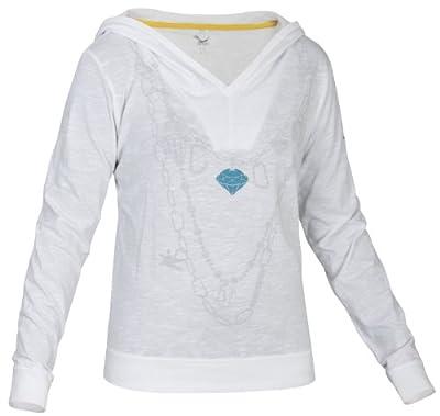 Salewa Damen Baumwoll Langarmshirt Colier Hood von SALEWA bei Outdoor Shop