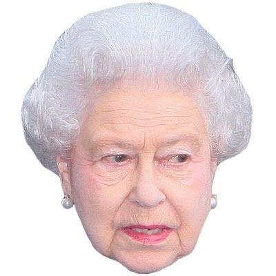 Facce Di Persone Famose.Hrh The Queen Maschere Di Persone Famose Facce Di Cartone