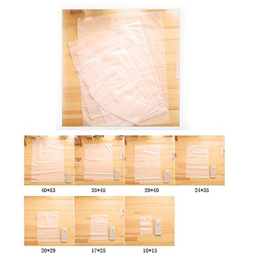7pcs Unterwäsche  Kleidung Beutel Veredelung Wasserdicht Taschen verschlossen Transparent Reise  Taschen